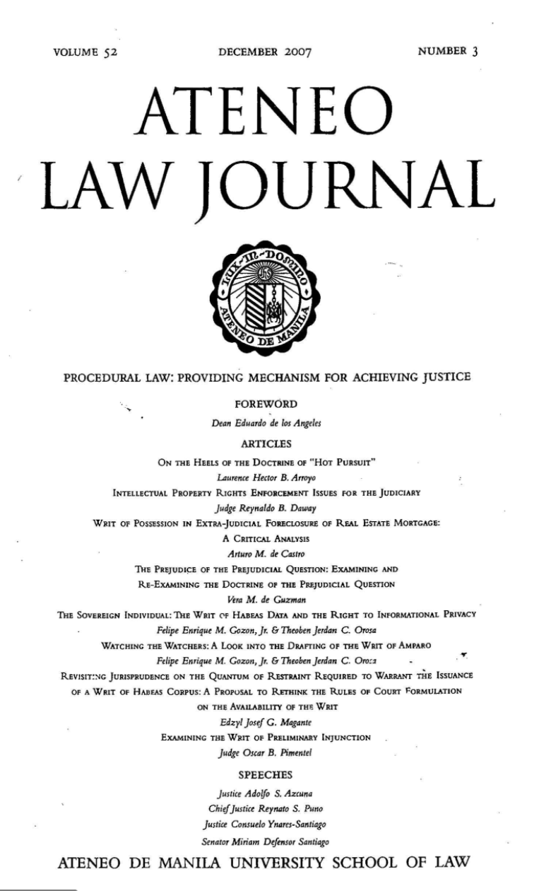 ALS Journal Cover